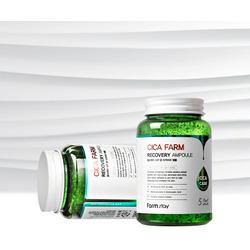 Многофункциональная ампульная сыворотка для лица с центеллой азиатской Cica Farm Recovery Ampoule FarmStay. Вид 2