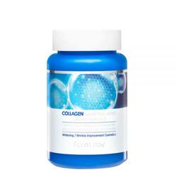 Увлажняющий ампульный крем для лица с коллагеном Collagen Water Full Moist Cream Ampoule FarmStay. Вид 2
