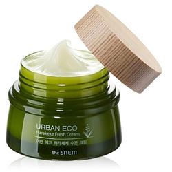 Освежающий крем для лица с экстрактом новозеландского льна Urban Eco Harakeke Fresh Cream The Saem. Вид 2