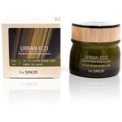 Ночная маска для лица с экстрактом новозеландского льна Urban Eco Harakeke Root Sleeping Mask The Saem. Вид 2