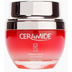 Укрепляющий глубоко увлажняющий крем для лица с керамидами Ceramide Firming Facial Cream FarmStay. Вид 2