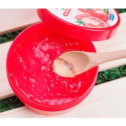Увлажняющий успокаивающий гель для лица и тела с экстрактом томатов Tomato Moisture Soothing Gel FarmStay. Вид 2