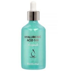 Ампульная сыворотка с гиалуроновой кислотой Hyaluronic Acid 100 Ampoule FarmStay. Вид 2