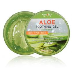 Многофункциональный гель для лица и тела с алоэ вера Aloe Soothing Gel Eyenlip. Вид 2