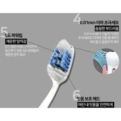 Зубная щетка с отбеливающим эффектом CLIO Curved Nine Mixed Fine Toothbrush. Вид 2