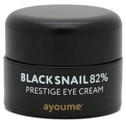 Крем для глаз муцином черной улитки Black Snail Prestige Eye Cream Ayoume. Вид 2