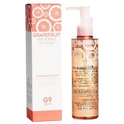 Пенка - масло для умывания с экстрактом грейпфрута Grapefruit Vita Bubble Oil Foam G9SKIN. Вид 2