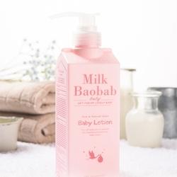 Детский лосьон для тела увлажняющий Baby Lotion Milk Baobab. Вид 2