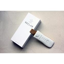 Вибромассажный аппарат для ультразвуковой чистки лица и гальванотерапии RECLAR Galvanic Water Peeler Gold. Вид 2