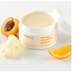 Апельсиновый очищающий сорбет Orange Cleansing Sherbet Aromatica. Вид 2