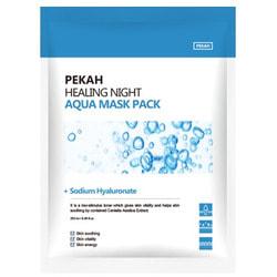 Вечерняя восстанавливающая увлажняющая маска Healing Night Aqua Mask Pack Pekah. Вид 2