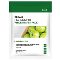 Вечерняя восстанавливающая отшелушивающая маска Healing Night Peeling Mask Pack Pekah. Вид 2