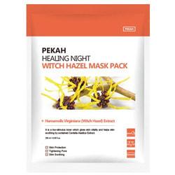 Вечерняя восстанавливающая маска с экстрактом гамамелиса Healing Night Witch Hazel Mask Pack Pekah. Вид 2