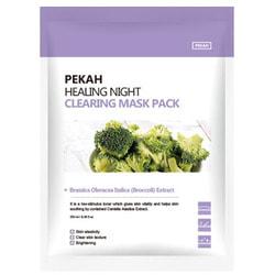 Вечерняя восстанавливающая очищающая маска Healing Night Clearing Mask Pack Pekah. Вид 2