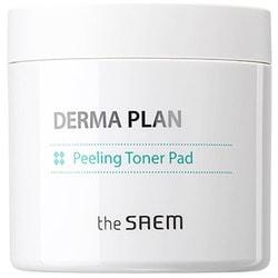 Тонизирующие пилинг диски Derma Plan Peeling Toner Pad The Saem. Вид 2