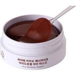 Тонизирующие гидрогелевые патчи для области вокруг глаз с экстрактом какао Cacao Energizing Hydrogel Eye Mask Petitfee. Вид 2
