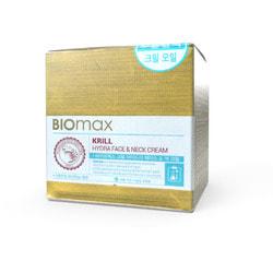 Увлажняющий крем для лица и шеи с крилевым маслом BIOmax. Вид 2