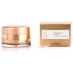 Антивозрастной крем для глаз Snail Essential EX Wrinkle Solution Eye Cream The Saem. Вид 2
