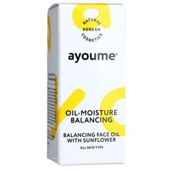 Масло для лица восстанавливающее Balancing Face Oil With Sunflower Ayoume. Вид 2