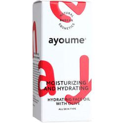 Увлажняющее масло для лица с экстрактом оливы Moisturizing and Hydrating Face Oil With Olive Ayoume. Вид 2