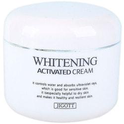 Осветляющий крем для лица Whitening Activated Cream Jigott. Вид 2