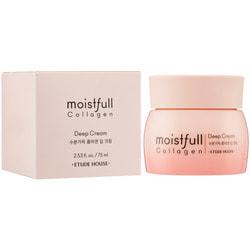 Крем для лица увлажняющий с коллагеном Moistfull Collagen Deep Cream Etude. Вид 2
