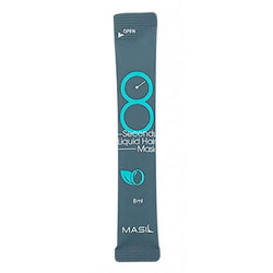 Восстанавливающая экспресс маска для объема волос в саше 8 Seconds Liquid Hair Mask Masil. Вид 2