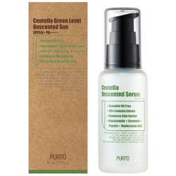 Увлажняющая сыворотка для восстановления кожи с центеллой азиатской Centella Unscented Serum Purito. Вид 2
