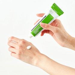 Успокаивающий крем для восстановления кожи лица с центеллой Centella Green Level Recovery Cream Purito. Вид 2