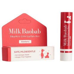 Детский бальзам для губ Baby and Kids Calming Lip Balm Milk Baobab. Вид 2