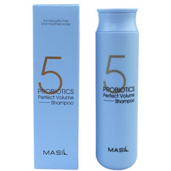 Шампунь для объема волос 5 Probiotics Perfect Volume Shampoo Masil. Вид 2