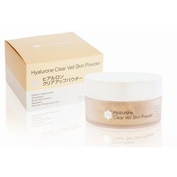 Гиалуроновая пудра - перламутровая вуаль Hyalurone Clear Veil Skin Powder BB Laboratories. Вид 2