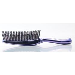 Японская массажная расческа S Heart S Scalp Brush Univiala 572 зубчика цвет пурпурный. Вид 2