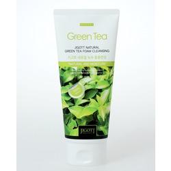 Очищающая пенка с экстрактом зеленого чая Jigott. Вид 2