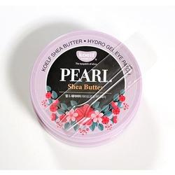 Гидрогелевые патчи для глаз с маслом ши и жемчужной пудрой Pearl Shea Butter Hydrogel Eye Patch KOELF. Вид 2