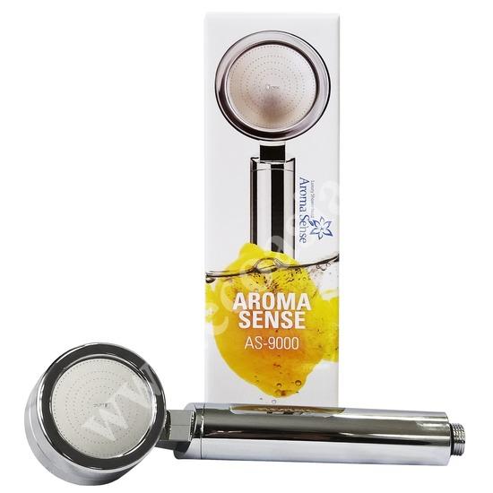 Душевая лейка Aroma Sense 9000 с эффектом ароматизации и гидромассажа (фото)