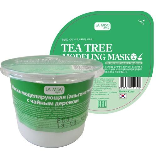 La Miso (Корея) Моделирующая маска с чайным деревом альгинатная