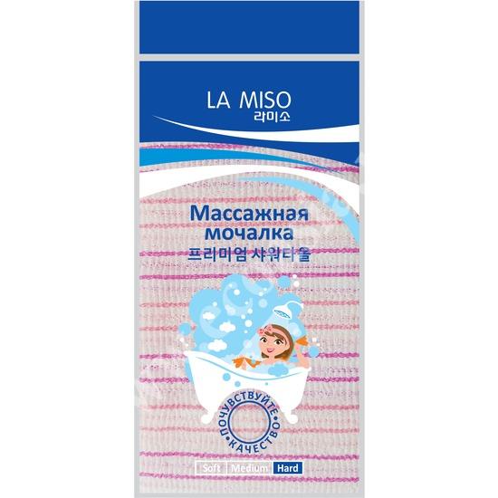 Корейская массажная мочалка жесткая La Miso (фото)