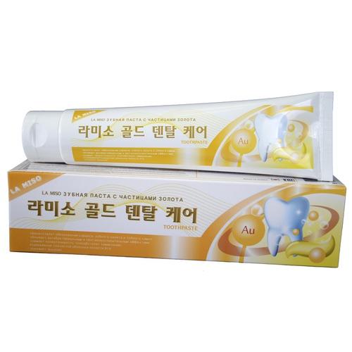 Зубная паста с частицами золота La Miso (Корея)