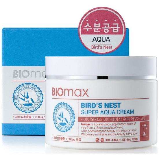 Интенсивно увлажняющий крем с экстрактом ласточкиного гнезда BIOmax (Корея)