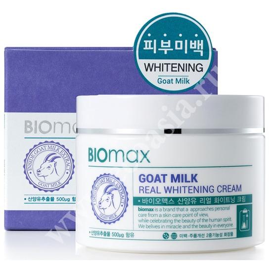 BIOmax (Корея) Отбеливающий крем с экстрактом козьего молока