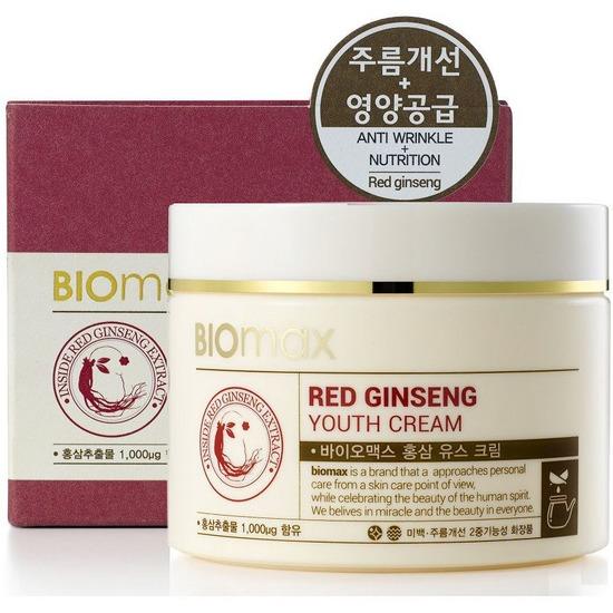 Омолаживающий крем для лица с красным женьшенем BIOmax (фото)