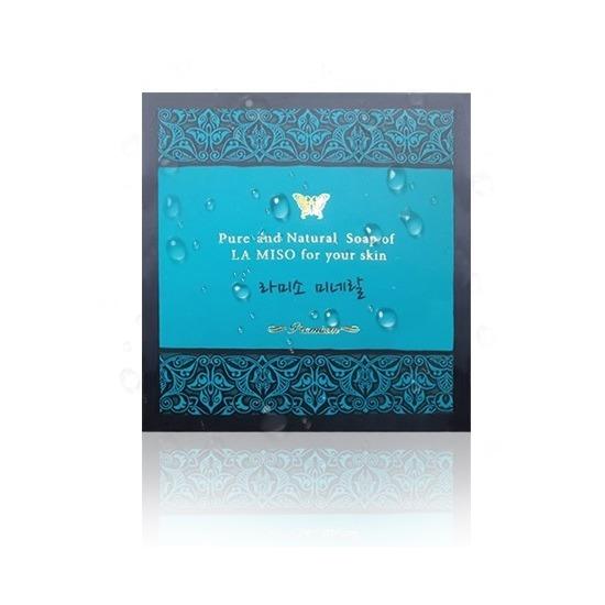 Натуральное косметическое мыло с минералами La Miso (фото)