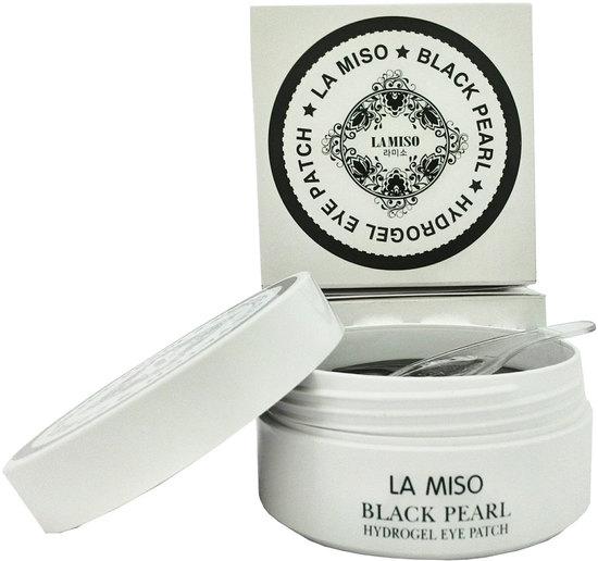 La Miso (Корея) Гидрогелевые патчи с черным жемчугом для кожи вокруг глаз