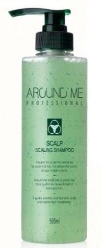 Отшелушивающий шампунь-скраб для волос и кожи головы Around Me Welcos