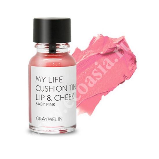Тинт для губ и щек цвета baby pink Graymelin (фото)