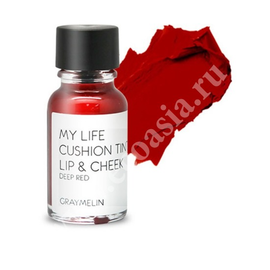 Тинт для губ и щек цвета deep red Graymelin (Корея)