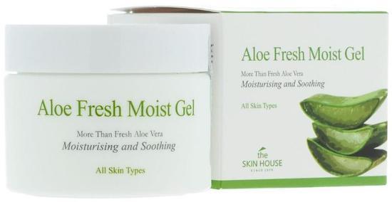 Крем-гель для лица с экстрактом алоэ Aloe Fresh The Skin House