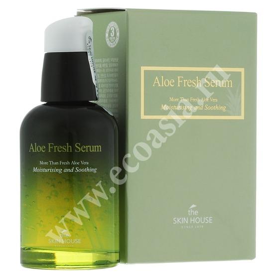 Увлажняющая и успокаивающая сыворотка с экстрактом алоэ Aloe Fresh The Skin House (Корея)