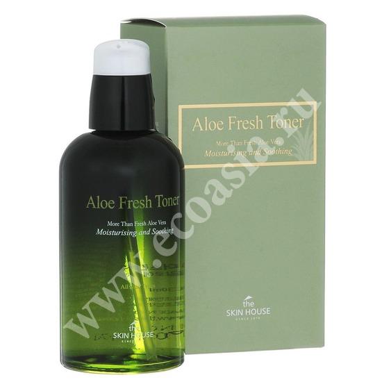 Успокаивающий тонер с экстрактом алое Aloe Fresh The Skin House (фото)
